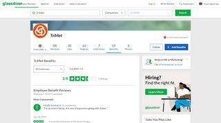 TriMet Employee Benefits and Perks | Glassdoor