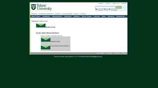 Tulane E-mail - Tulane University