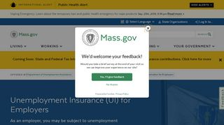 UI Online for Employers and Agents - Mass.Gov