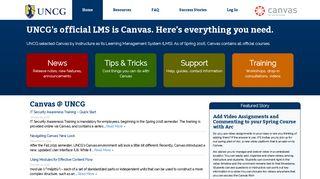 UNCG Canvas Resource Site