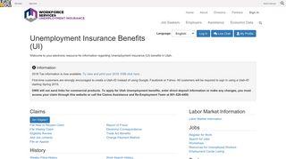 Unemployment Insurance Benefits (UI)
