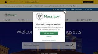 Unemployment Insurance - Mass.Gov