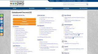 Unemployment Insurance - Wisconsin.gov