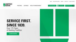 United Bank | Personal Banking, Business Banking, Investments
