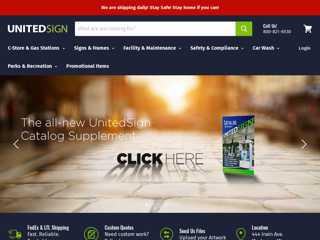 UnitedSign Home Page
