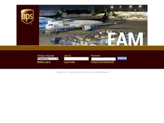 UPS Enterprise Portal Log In - UPS.com
