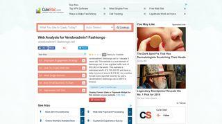 Vendoradmin1 Fashiongo : FashionGo Vendor Admin Login
