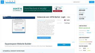 Visit Ustanorcal.com - USTA NorCal - Login.