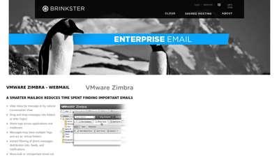 VMWare Zimbra - Webmail - Brinkster