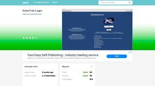 VP Crossmark Salestrak Login Guide... - Today's Assistant | Facebook