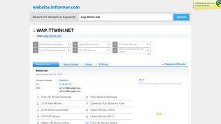 wap.ttmini.net at WI. Loading... - Website Informer