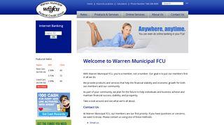 Warren Municipal FCU