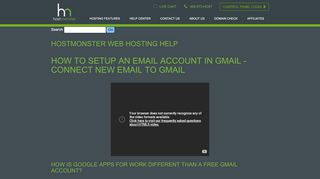 Webmail and Email Applications - HostMonster
