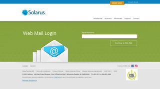 Webmail Login - Solarus