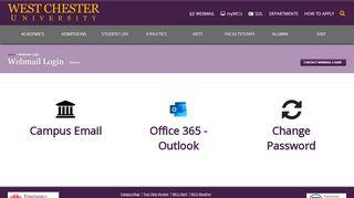 Webmail Login - West Chester University