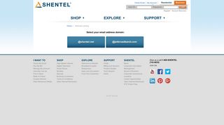 WebmailLanding - Shentel