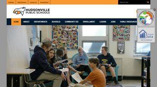 Welcome to Hudsonville Public Schools, a K-12 school district ...