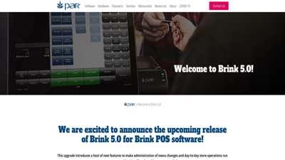 Welcome to PAR's Brink 5.0!  Restaurant Point of Sale ...