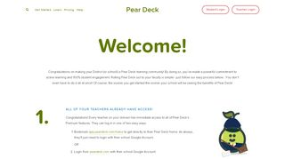 Welcome to Pear Deck — Pear Deck