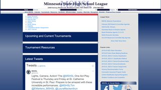Welcome to the Minnesota State High School League!