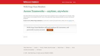 Wells Fargo Team Members