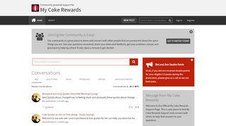 Whats Changing - My Coke Rewards