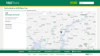 Wilmington University ATM in New Castle, DE | M&T Bank