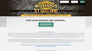 Winloot Free Online Sweepstakes