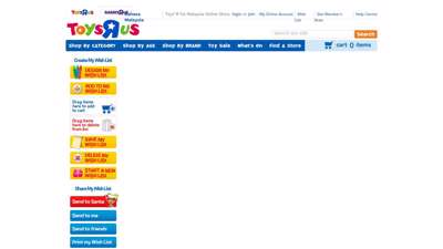 """Wish List  Toys""""R""""Us Malaysia Official Website"""