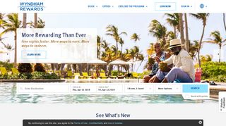 Wyndham Rewards Loyalty Program   Earn Points Worldwide