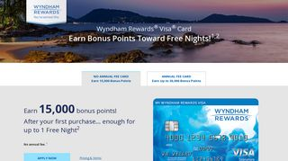 Wyndham Rewards Visa Signature Card