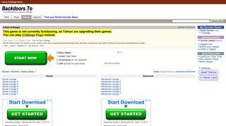 Yahoo Cribbage Backdoor - Yahoo Games   www.backdoors.to