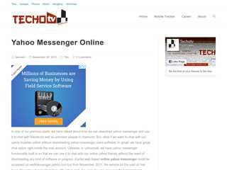 Yahoo Messenger Online  Yahoo Chat Online
