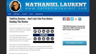 YoloPros - Nathaniel Laurent