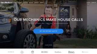 YourMechanic: Auto Repair by Top-Rated Mobile Mechanics