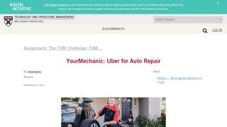 YourMechanic: Uber for Auto Repair – Technology and ...