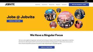 Jobs @ Jobvite