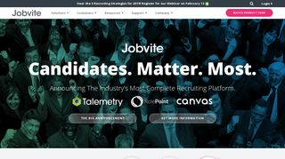Jobvite: Leading Recruiting Software and Applicant Tracking ...