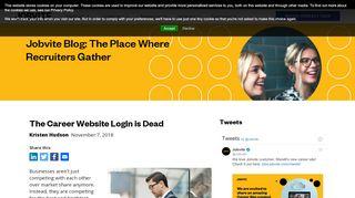 The Career Website Login is Dead - Jobvite