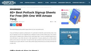 60+ Best Potluck Signup Sheets For Free (5th One …