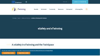 A. eSafety in eTwinning and the TwinSpace