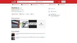Acanac - 79 Reviews - Internet Service Providers - 200-56 ...