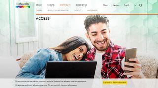 Access - technicolor.com
