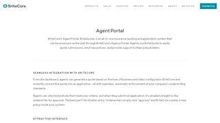Agent Portal — BriteCore