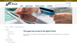 Agent Portal Redirect - ICBA