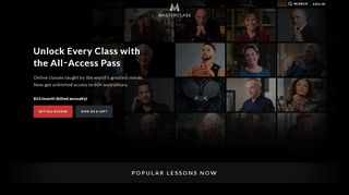 All-Access - MasterClass