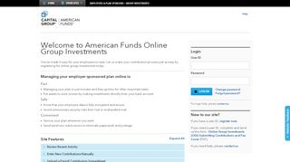 American Funds Group Investments
