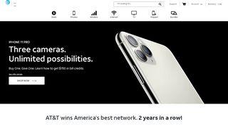 AT&T® Official Site - Phone Plans, Internet Service, & TV - att ...