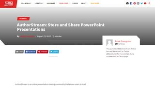 AuthorStream: Store and Share PowerPoint Presentations