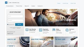 Auto Loan Financing & Leases   GM Financial